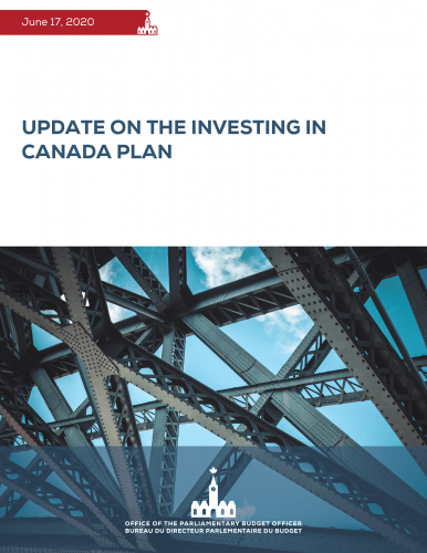 Update on the Investing in Canada Plan